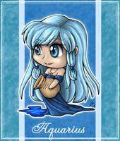 Zodiac Series - Aquarius by angelnablackrobe