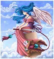 Angel in the Sky by angelnablackrobe