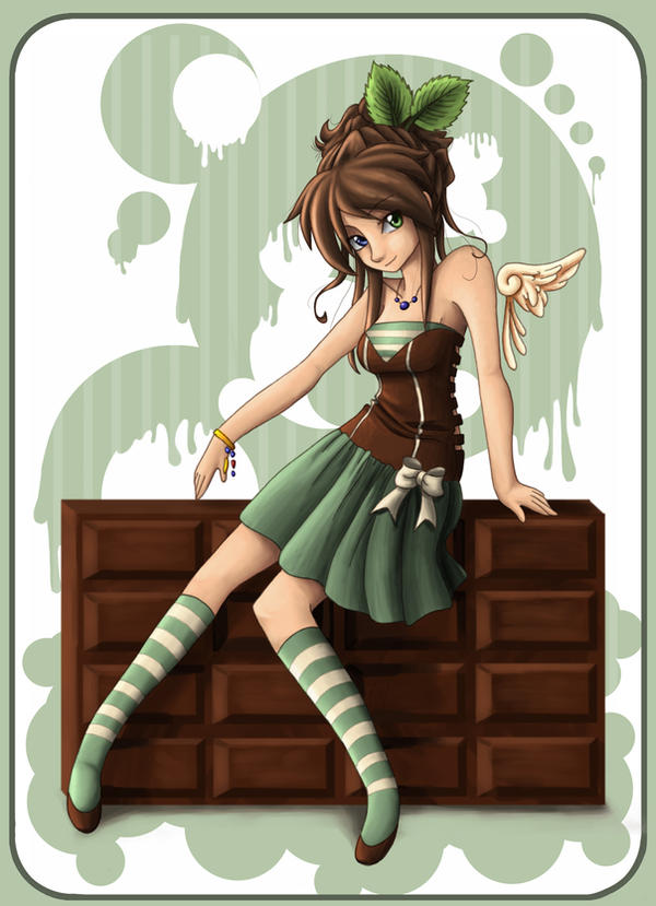 mint chocolate by angelnablackrobe