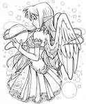 Elf angel - Art trade