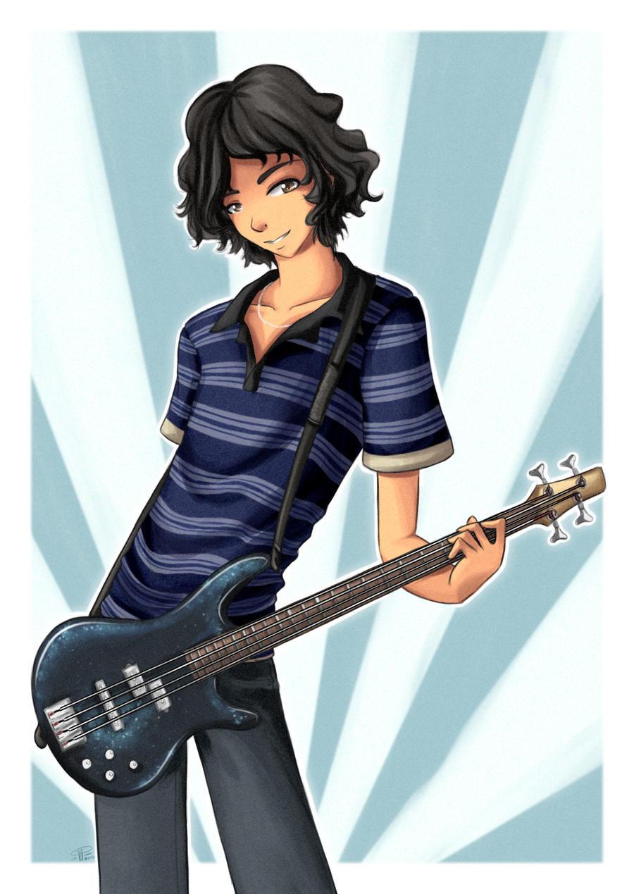 The Guitar Man By Angelnablackrobe