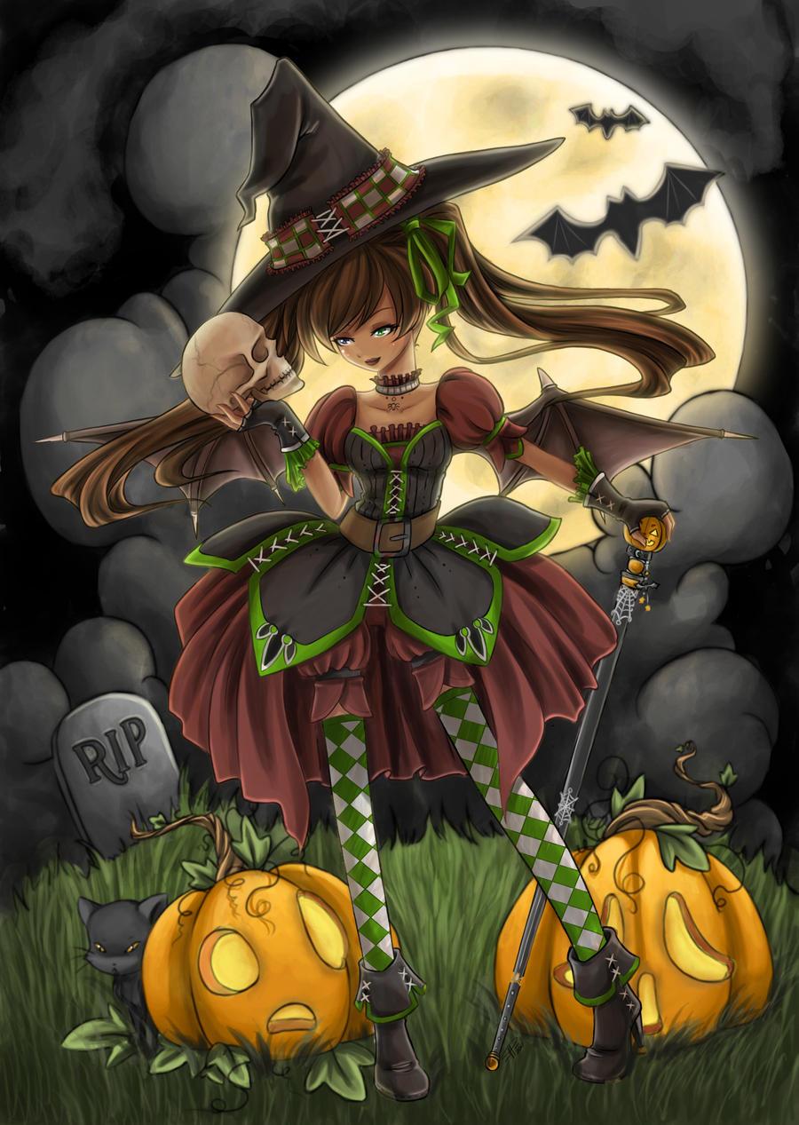 Halloween Queen by angelnablackrobe Halloween Queen by angelnablackrobe