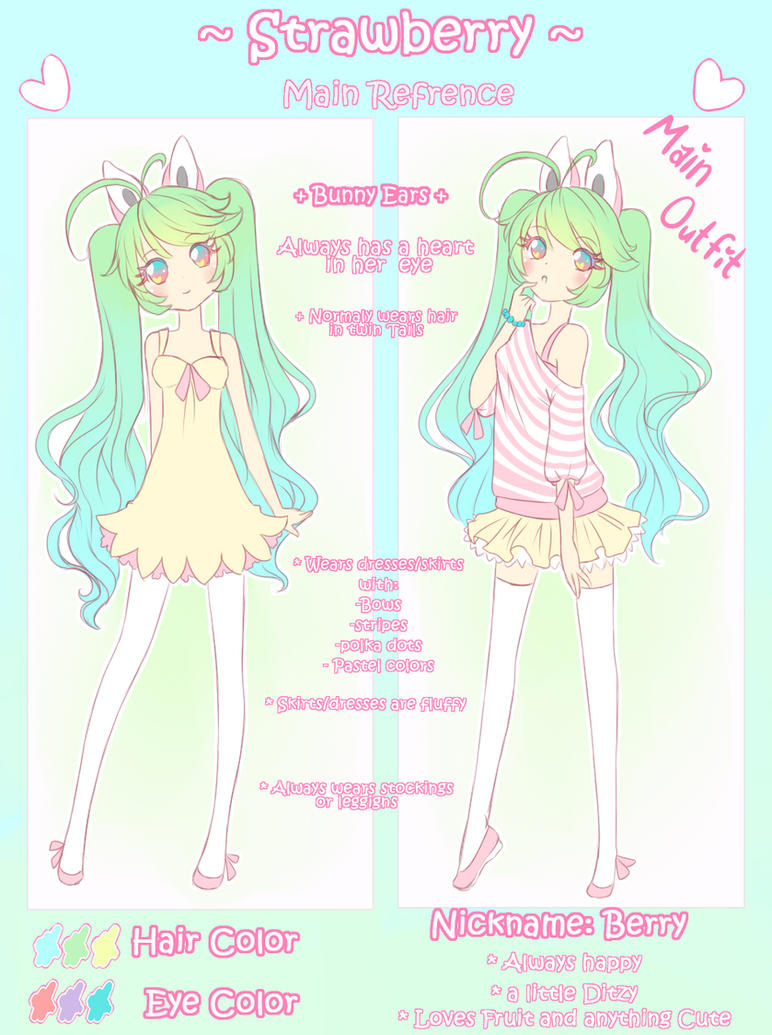 Strawberry Ref **imporant info** by angelnablackrobe