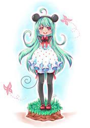 Cute as Minnie - Redraw by angelnablackrobe