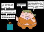 Big Lister meets the Annoying Orange