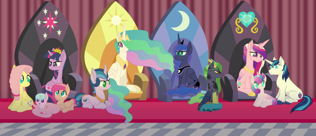 My Royal Family by Muddy-Waters