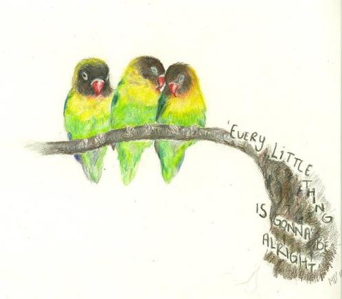 three little birds by silenceaintgolden on deviantart