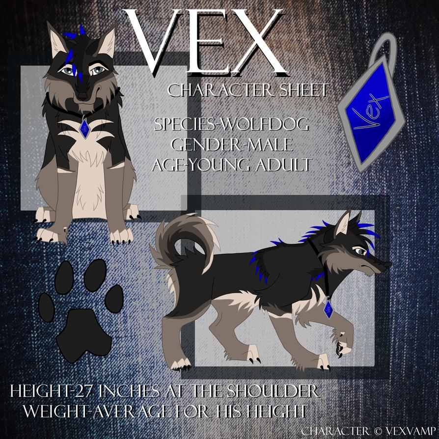 Outdated Vex Ref 2 by VexVamp on DeviantArt