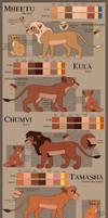 Character Sheets -Semi-Canon Cubs-