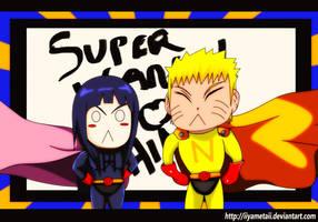 NaruHina Day 03: Superheroes by IIYametaII