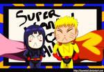 NaruHina Day 03: Superheroes