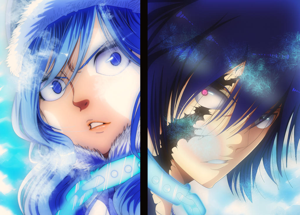 Fairy Tail 498: Gray vs. Juvia by IIYametaII