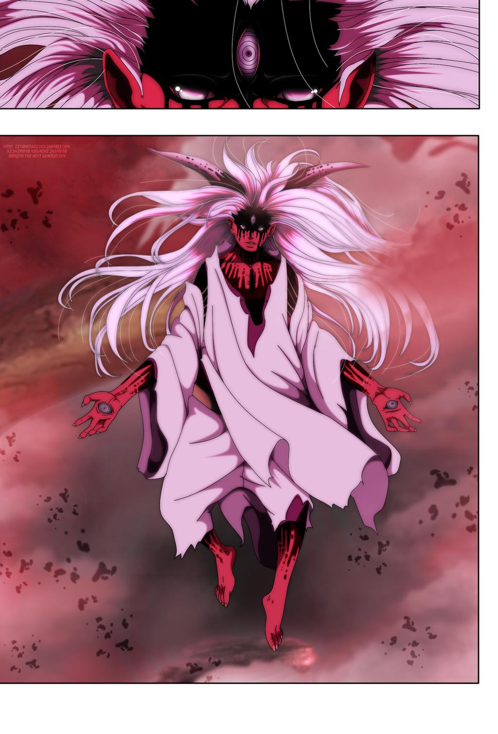 Boruto Chapter 7: Momoshiki New Form by IIYametaII on ...