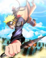 Naruto Uzumaki by IIYametaII