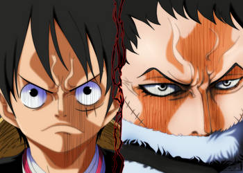 One Piece 878: Luffy vs. Katakuri by IIYametaII