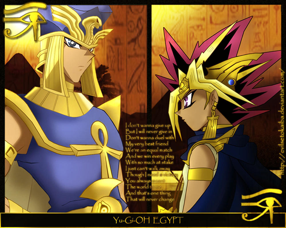 yugioh egypt wallpaper by evilsetokaiba on deviantart