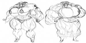 Pirate Muscle Babes