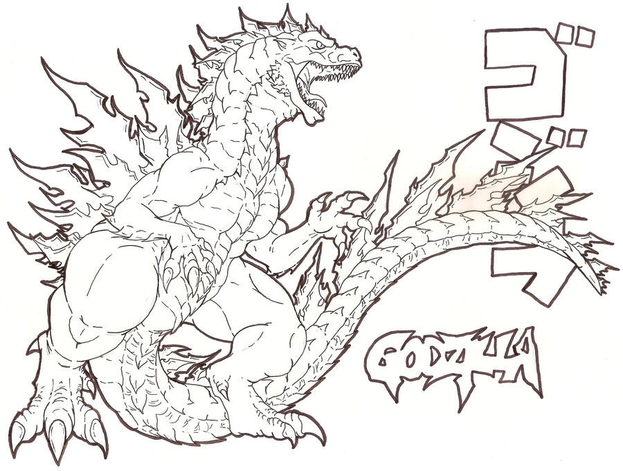 Godzilla 3000 by Fachhillis