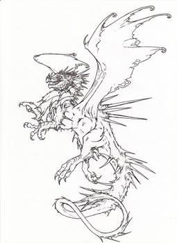 Dragon Tattoo desing
