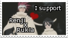 RenjixRukia Stamp by queen-of-pie