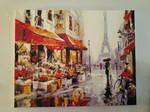 April in Paris Wall Art