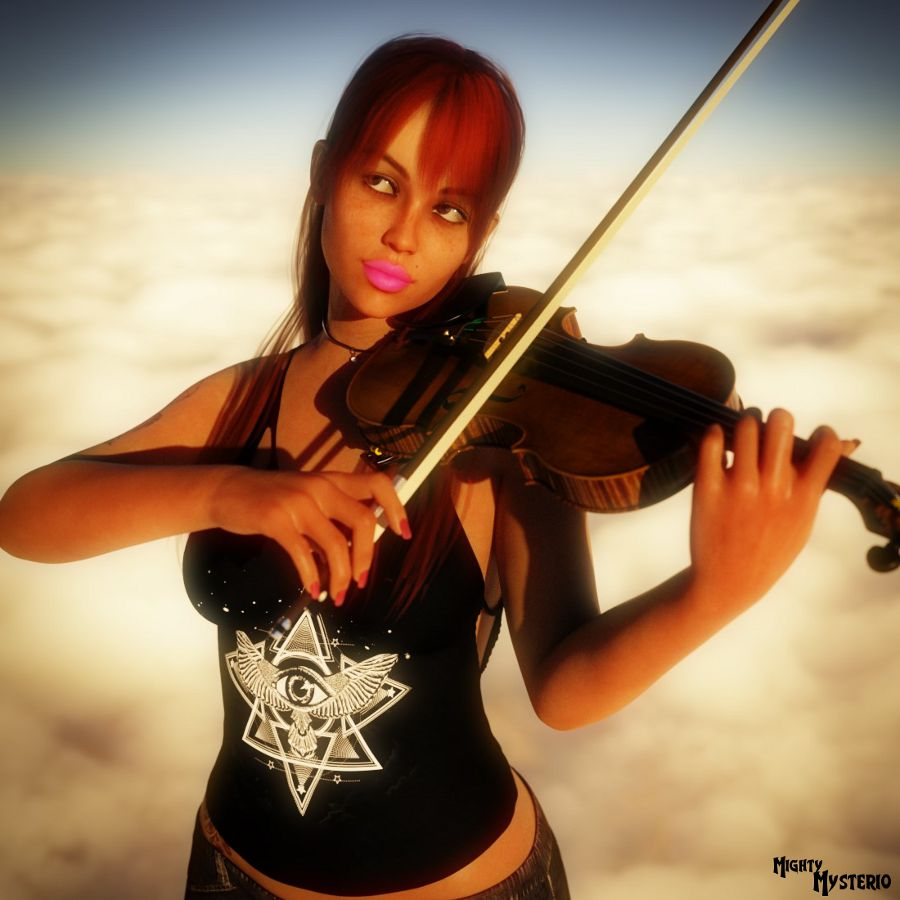 Heavenly Violinist