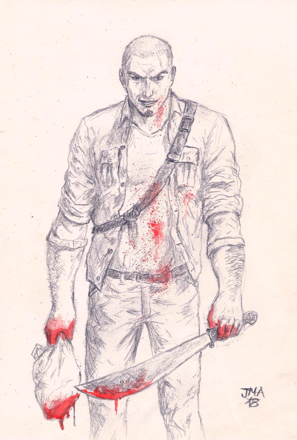 James Earl Cash (Manhunt). By Jmacomic On DeviantArt