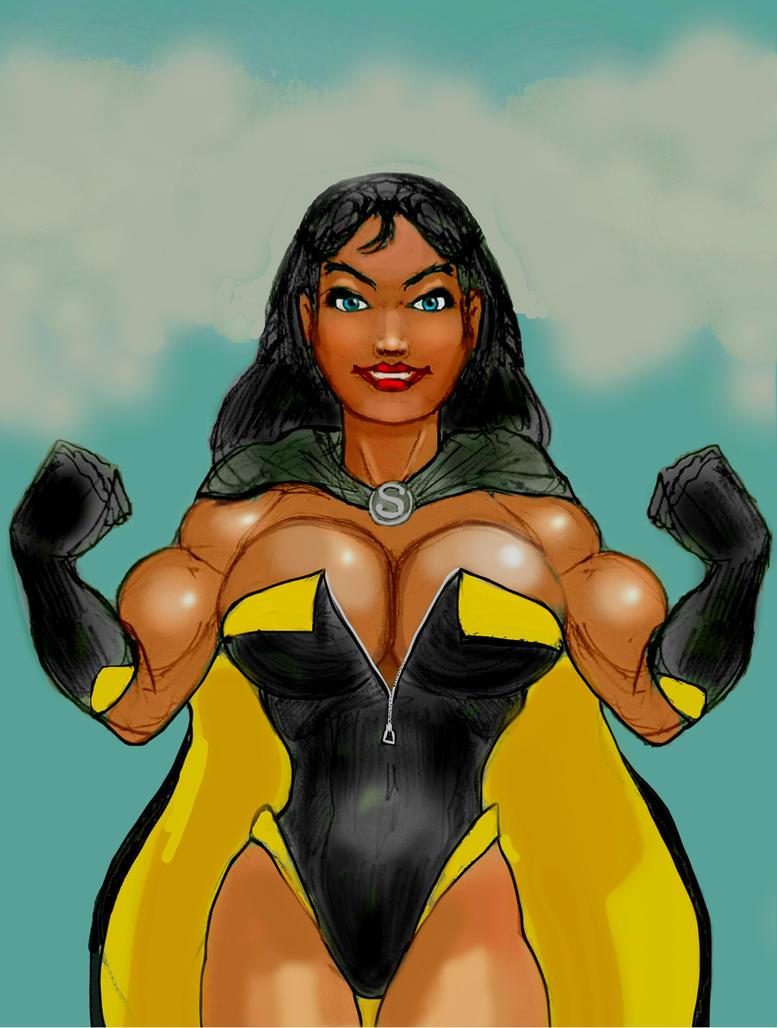 Superwoman - She's Smashing! by svettzwo