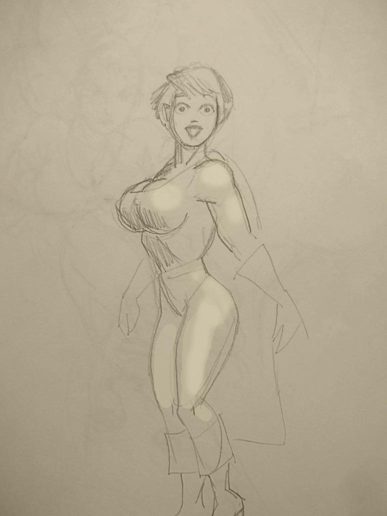 Power Girl 7466 by svettzwo