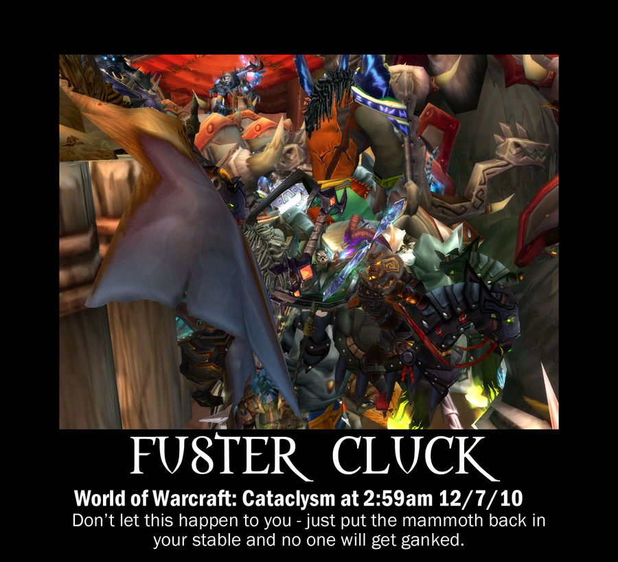 Fuster Cluck by FairyFindings