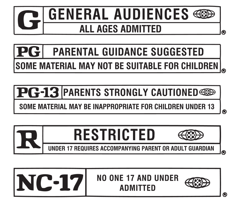 Movie Rating Labels by FairyFindings