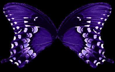 Butterfly Wings - Light Purple