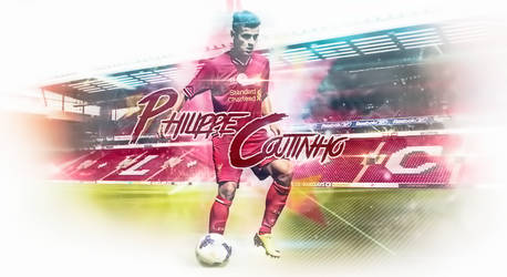 Philippe Coutinho #10 Liverpool Wallpaper