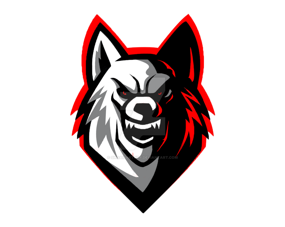 Clean Wolf Logo by Akther Brothers by shoaibakther on DeviantArt