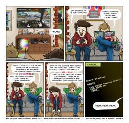 Right Hemisphere #008 - Schoolyard Format Wars Pt1