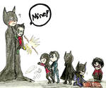 Batman: The family can't share