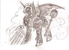 40k Ponies- The Warmaster Heretic by cahook2
