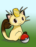 Meowth by Canovis
