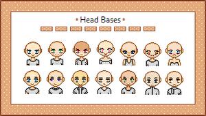 14 Head Bases by Gurinn
