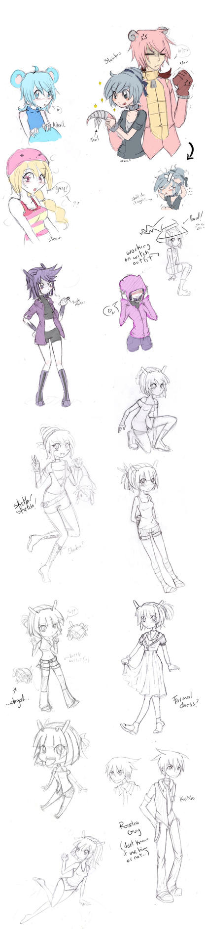 PP: Sketches by Gurinn