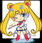 Super Sailor Moon by Gurinn