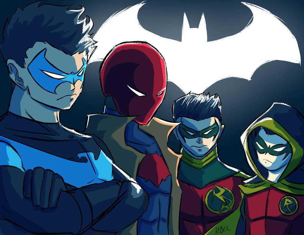 Meet The Robins by SparkAdam