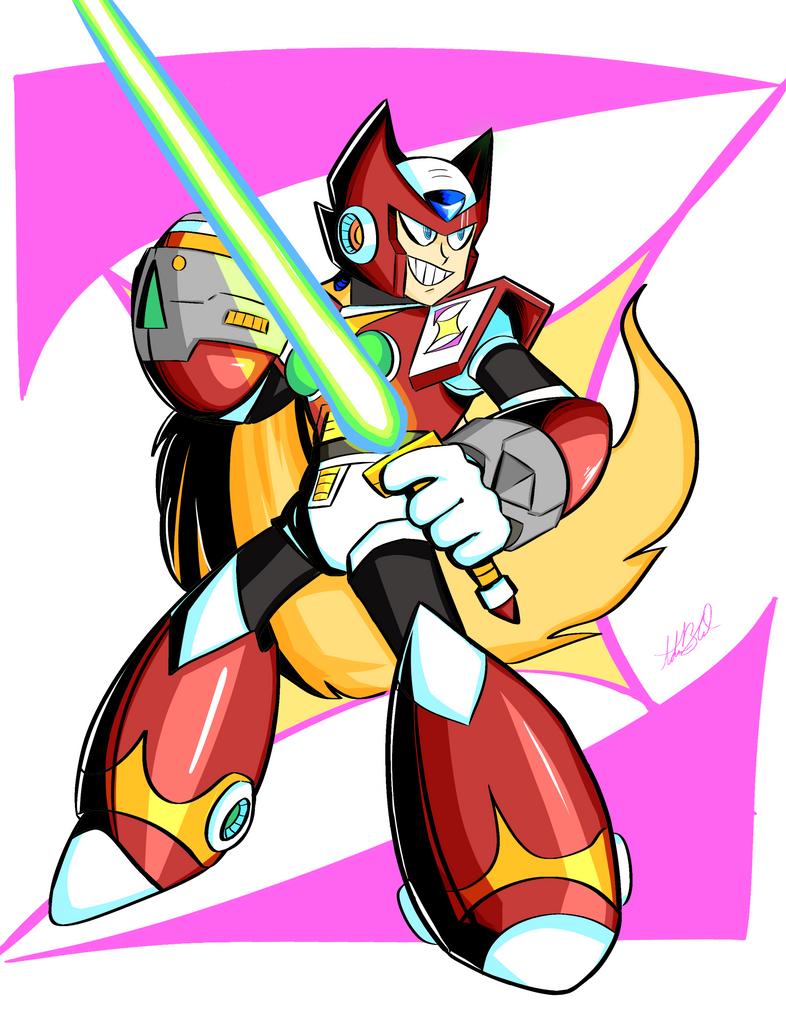 Super Maverick Hunter: Zero by SparkAdam
