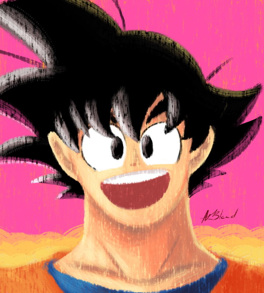 Adult Goku Ver. 2 by SparkAdam