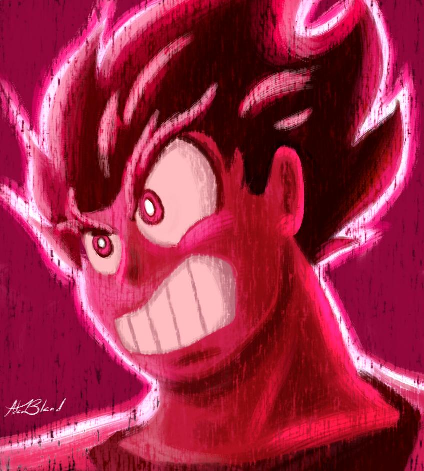 Kaioken Goku Ver.2 by SparkAdam