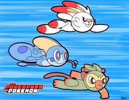 PowerPuff Pokemon  by SparkAdam