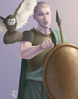 Genderbent Athena