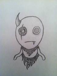 Sieg, The Lesser Demon (OCsketch)