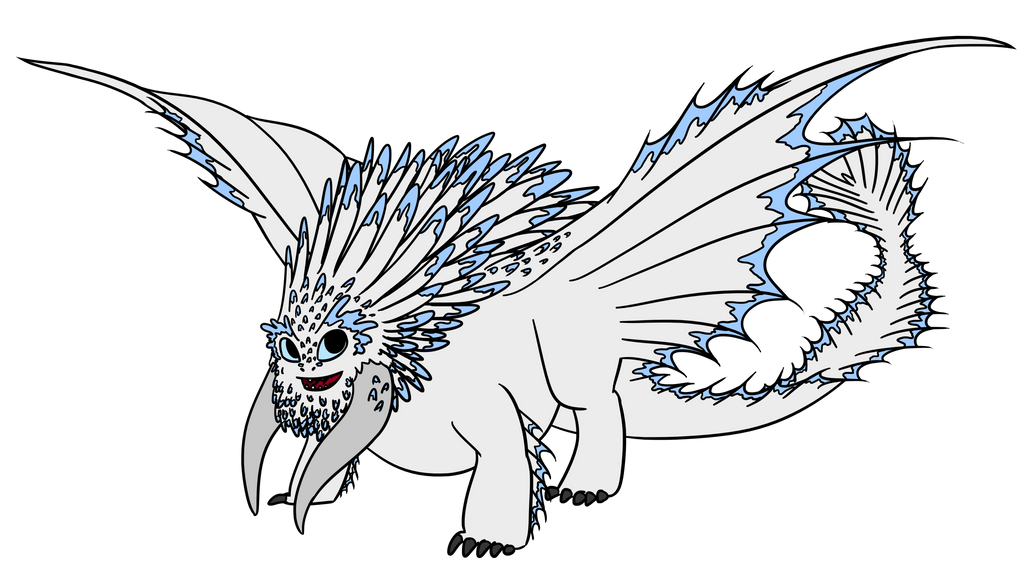 Bewilderbeast Dragon Coloring Pages