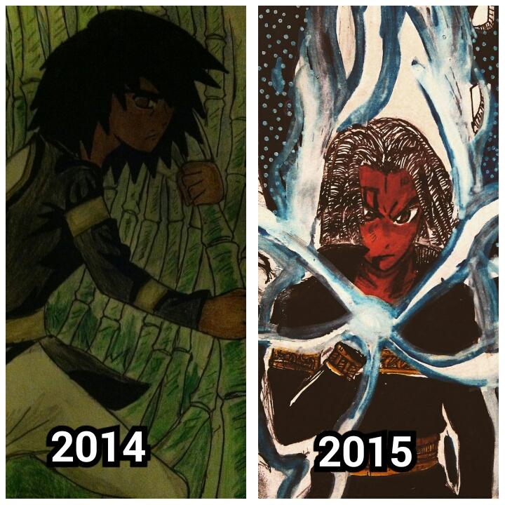Evolution of Kishujaa by Noir98